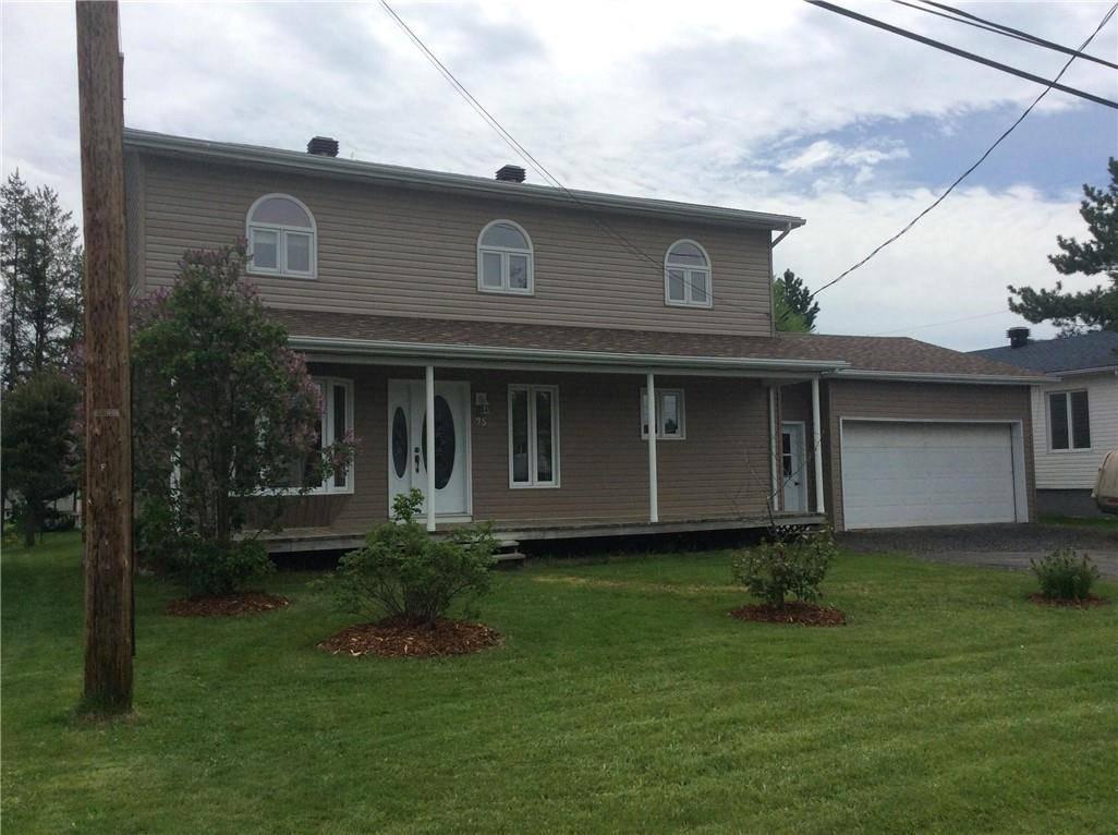 House for sale at 75 Des Soeurs  Saint-jacques New Brunswick - MLS: NB015913