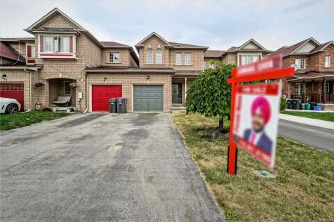 Townhouse for sale at 75 Earth Star Tr Brampton Ontario - MLS: W4916222