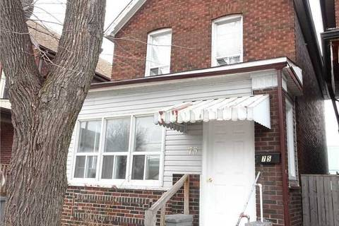 House for sale at 75 Gertrude St Hamilton Ontario - MLS: X4390509