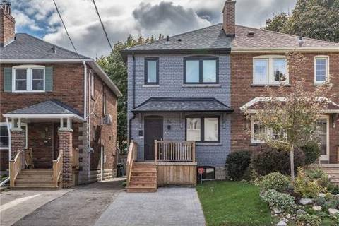 Townhouse for sale at 75 Glengarry Ave Toronto Ontario - MLS: C4461046