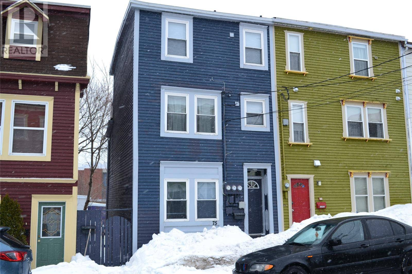Townhouse for sale at 75 Gower  St. John's Newfoundland - MLS: 1210176