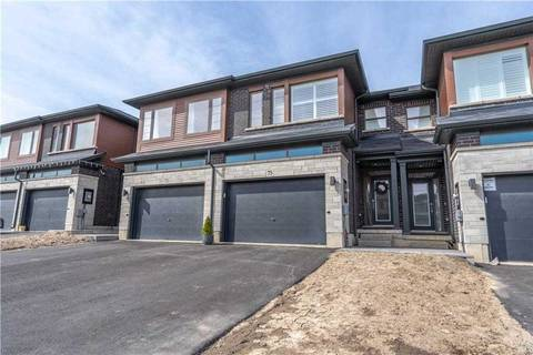 Townhouse for sale at 75 Greenwich Ave Hamilton Ontario - MLS: X4729698