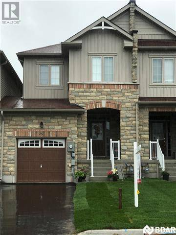 Townhouse for sale at 75 Greenwood Dr Angus Ontario - MLS: 30738630