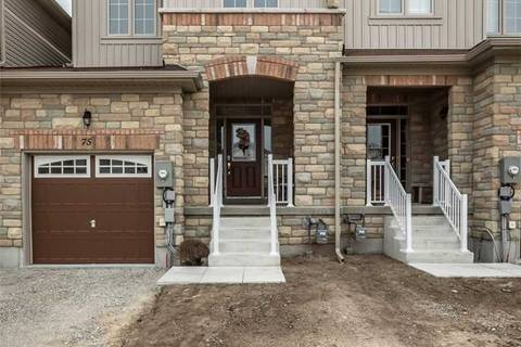Townhouse for sale at 75 Greenwood Dr Essa Ontario - MLS: N4454476