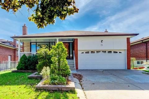 House for sale at 75 Iangrove Terr Toronto Ontario - MLS: E4395786