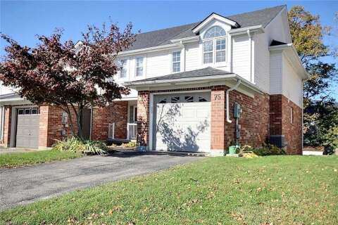 Townhouse for sale at 75 King William Ct Cambridge Ontario - MLS: 40035298