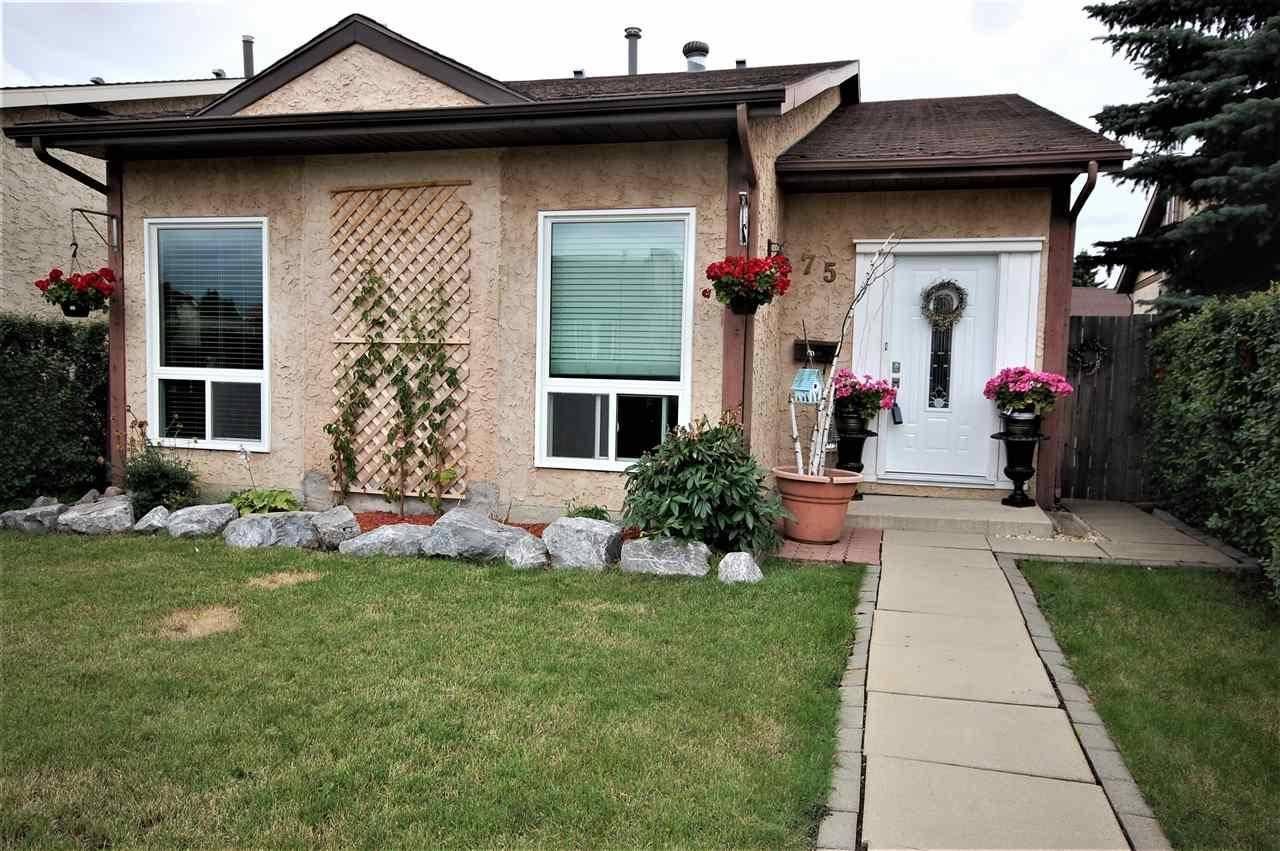 House for sale at 75 Kiniski Cres Nw Edmonton Alberta - MLS: E4167088