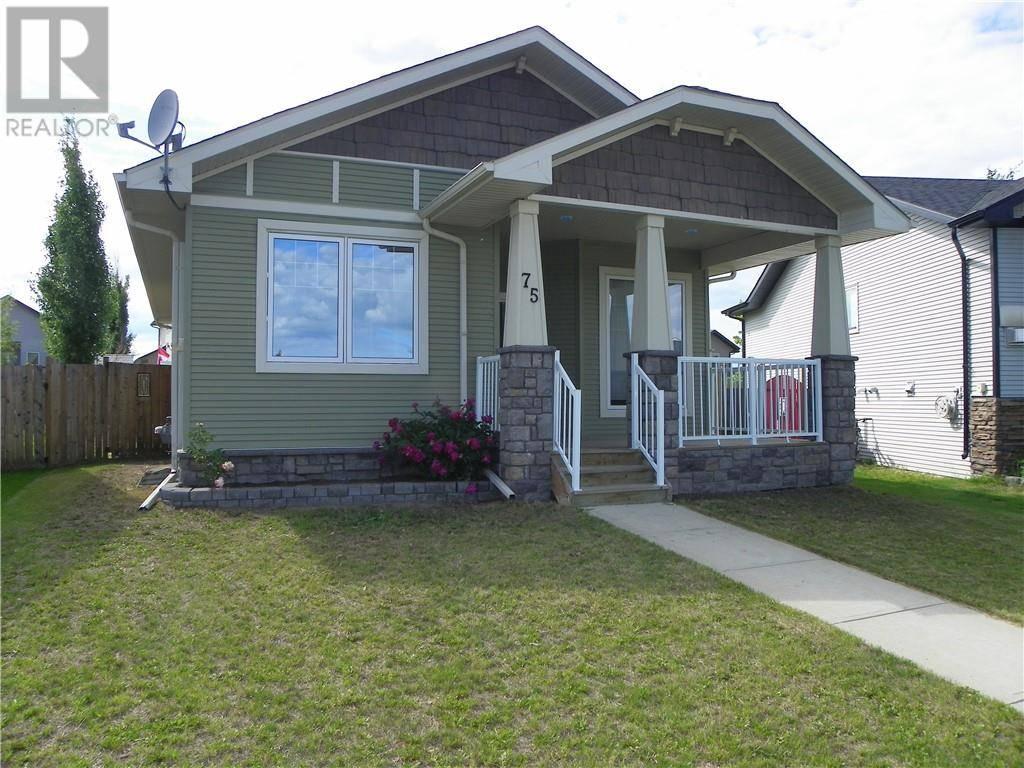 House for sale at 75 Ponderosa Ave Blackfalds Alberta - MLS: ca0171773