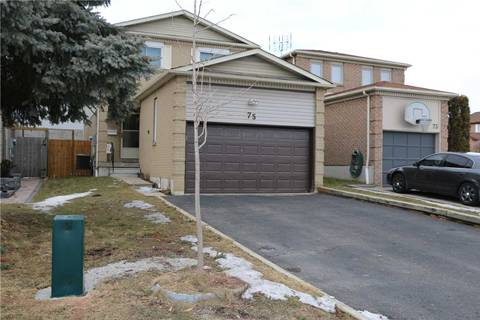 House for sale at 75 Reed Dr Ajax Ontario - MLS: E4398763