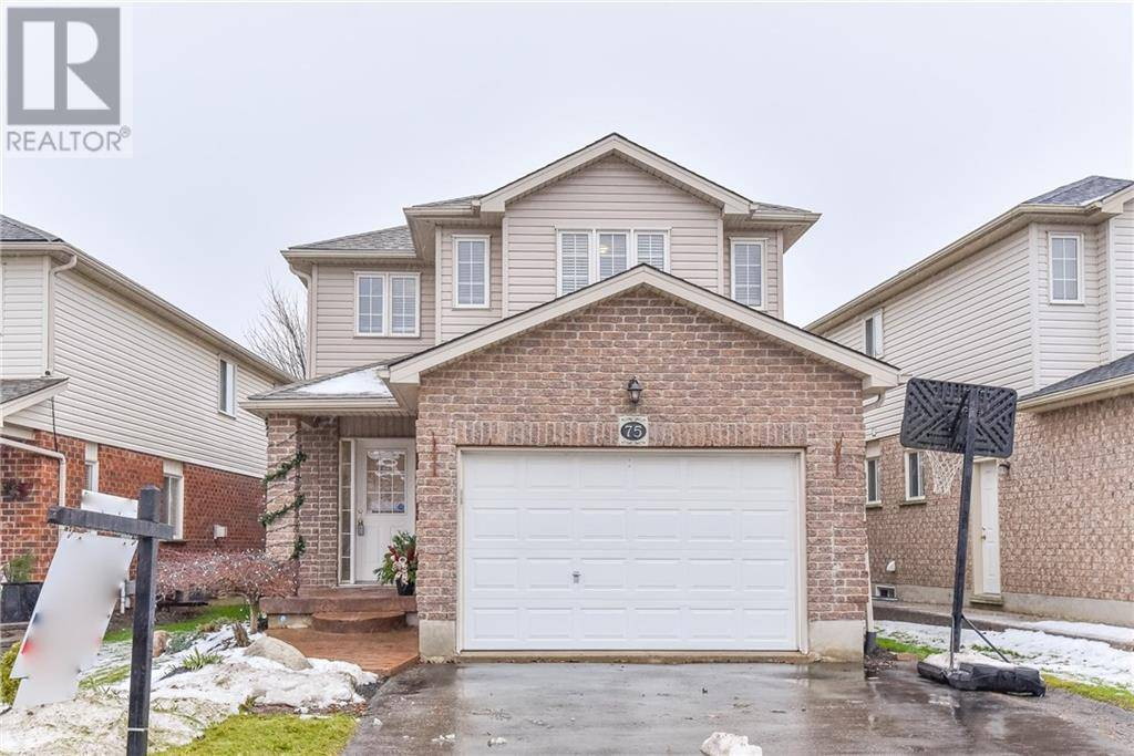 House for sale at 75 Snowdrop Cres Kitchener Ontario - MLS: 30781309