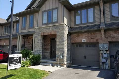 Townhouse for sale at 75 Southshore Cres Hamilton Ontario - MLS: X4534837