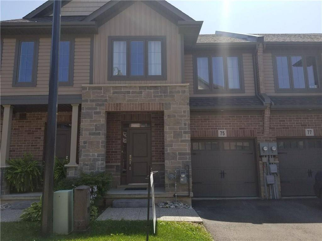 Townhouse for sale at 75 Southshore Cres Stoney Creek Ontario - MLS: H4060098