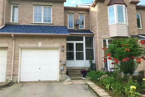 Townhouse for sale at 75 Sunway Sq Markham Ontario - MLS: N4824452