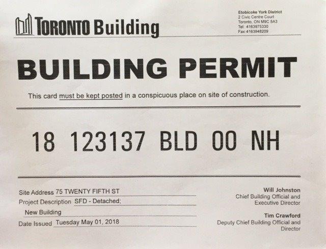 Sold: 75 Twenty Fifth Street, Toronto, ON