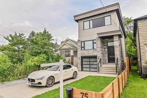House for sale at 75 Twenty Fifth St Toronto Ontario - MLS: W4535681