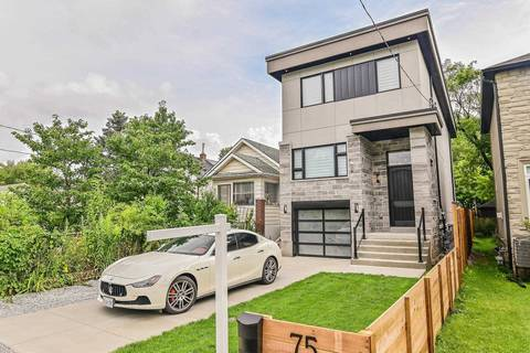 House for sale at 75 Twenty Fifth St Toronto Ontario - MLS: W4535681