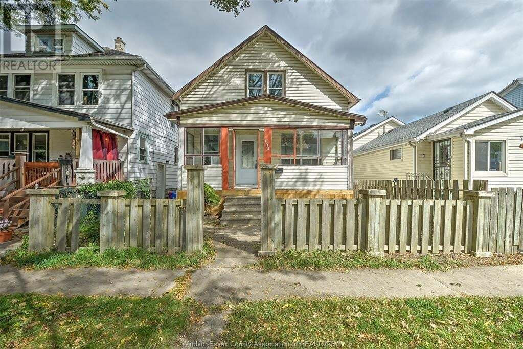 House for sale at 750 St. Antoine  Windsor Ontario - MLS: 20012975