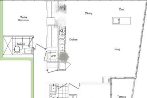 Apartment for rent at 151 Dan Leckie Wy Unit 751 Toronto Ontario - MLS: C4853807