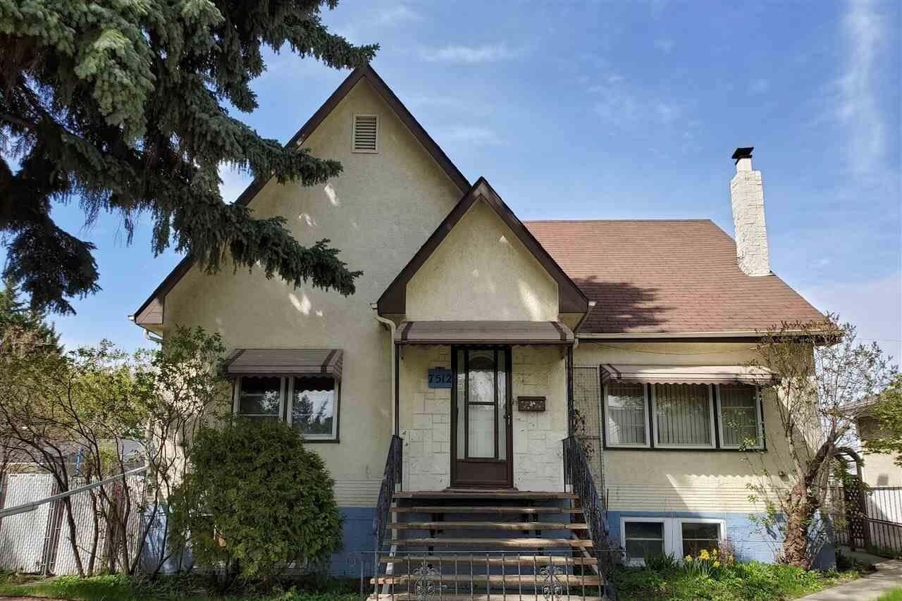 House for sale at 7512 94 Av NW Edmonton Alberta - MLS: E4198259