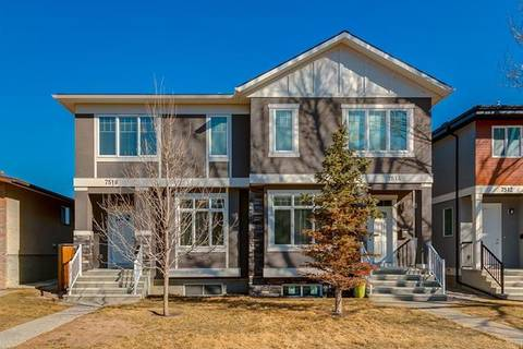 Townhouse for sale at 7516 36 Ave Northwest Calgary Alberta - MLS: C4236870