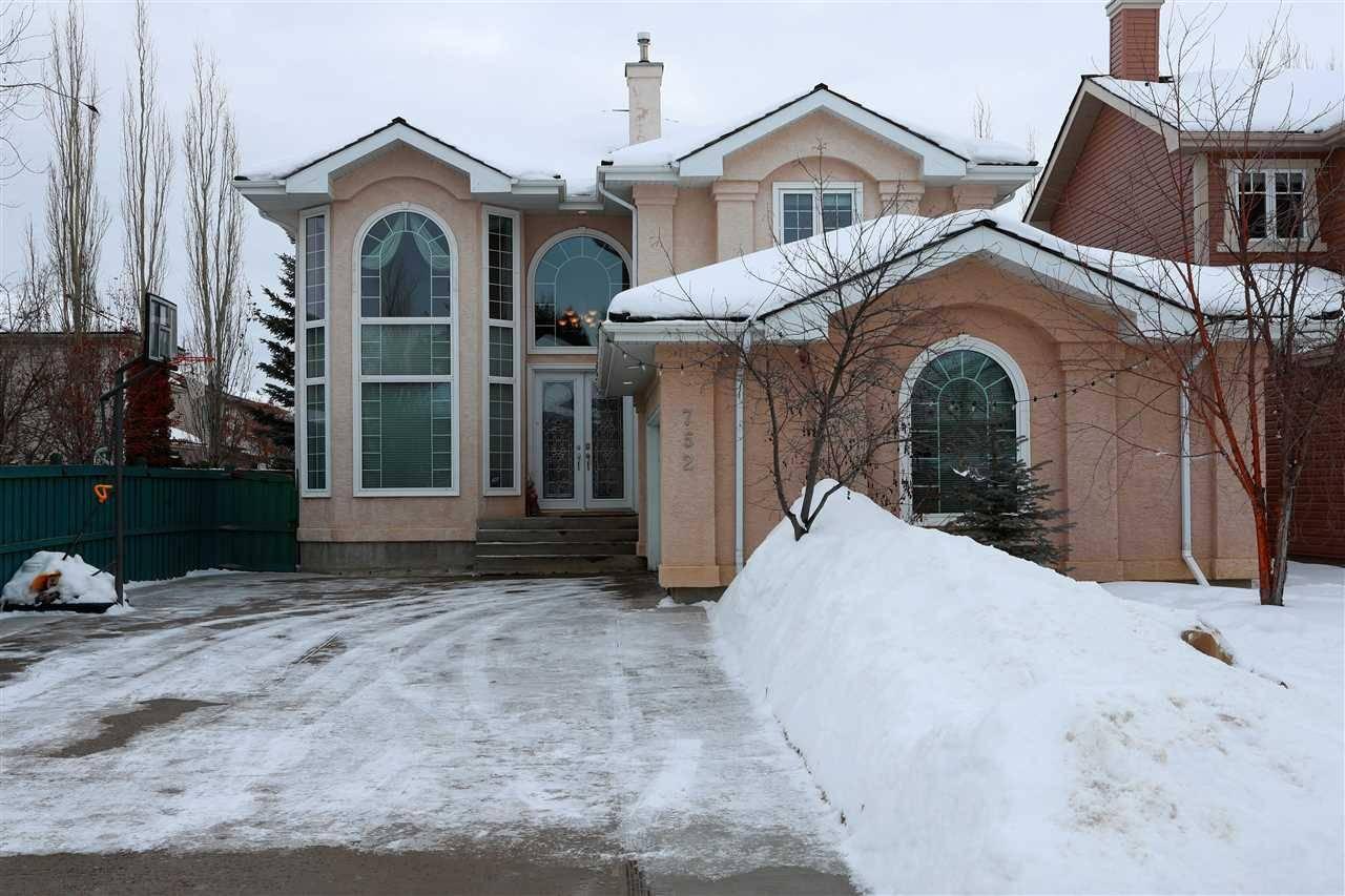 House for sale at 752 Haliburton Cres Nw Edmonton Alberta - MLS: E4189705