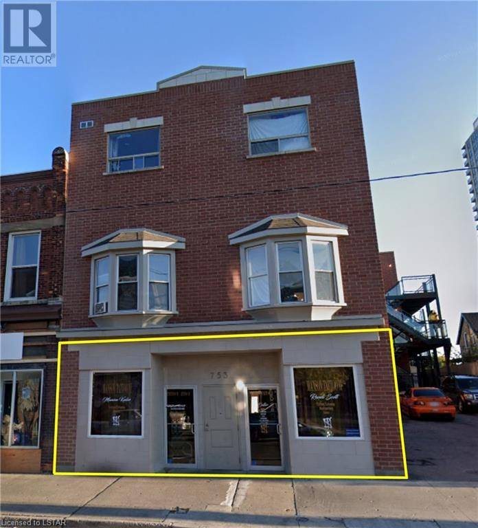 Commercial property for lease at 753 Dundas St London Ontario - MLS: 218026