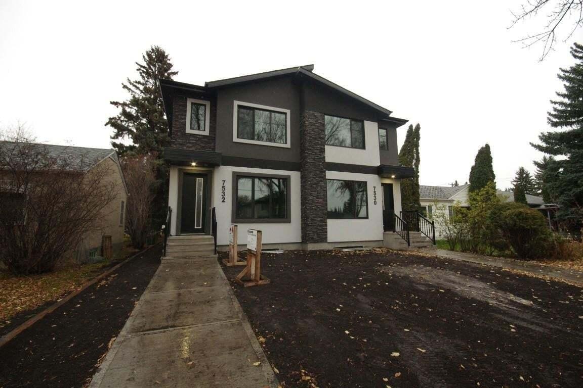 Townhouse for sale at 7532 79 Av NW Edmonton Alberta - MLS: E4193193