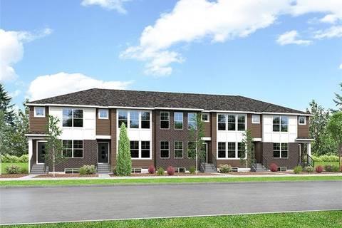 Townhouse for sale at 754 Cornerstone Blvd Northeast Calgary Alberta - MLS: C4286147