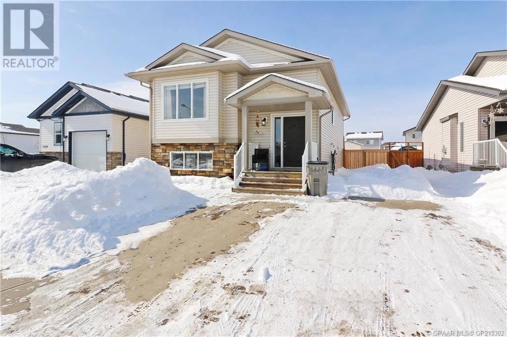 House for sale at 7542 Westpointe Dr Grande Prairie Alberta - MLS: GP215302
