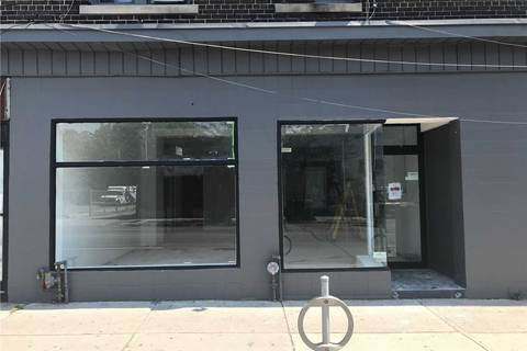 Commercial property for lease at 755 Dovercourt Rd Toronto Ontario - MLS: W4550780