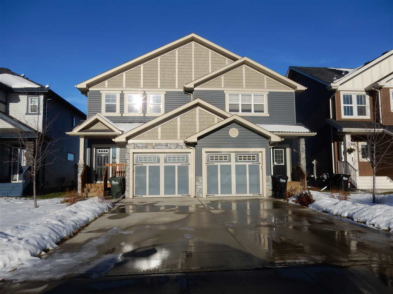 For Sale: 7558 Ellesmere Way, Sherwood Park, AB | 3 Bed, 2 Bath Townhouse for $303,800. See 13 photos!