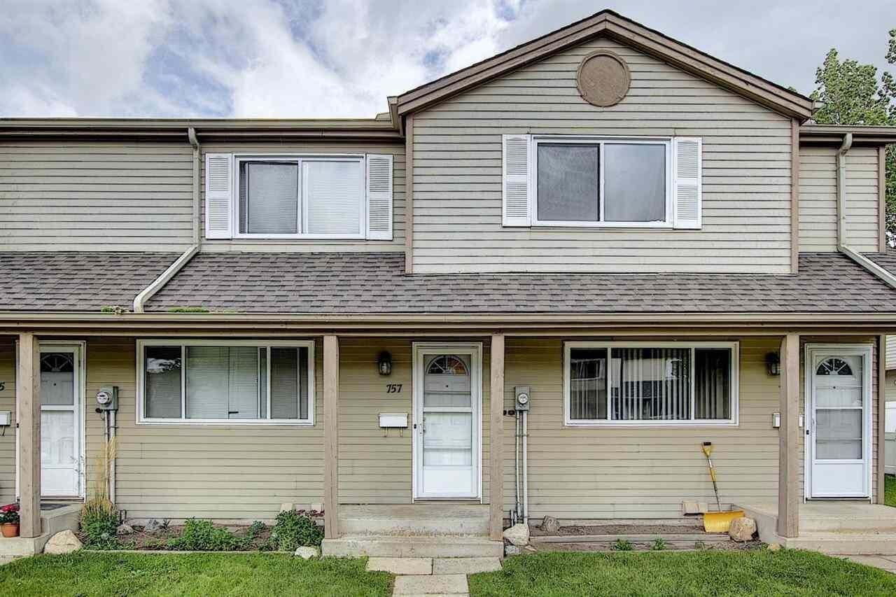 Townhouse for sale at 757 Village Dr Sherwood Park Alberta - MLS: E4206339