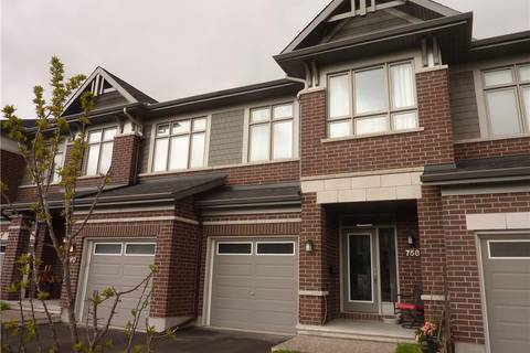 Townhouse for sale at 758 Carnelian Cres Ottawa Ontario - MLS: 1152206