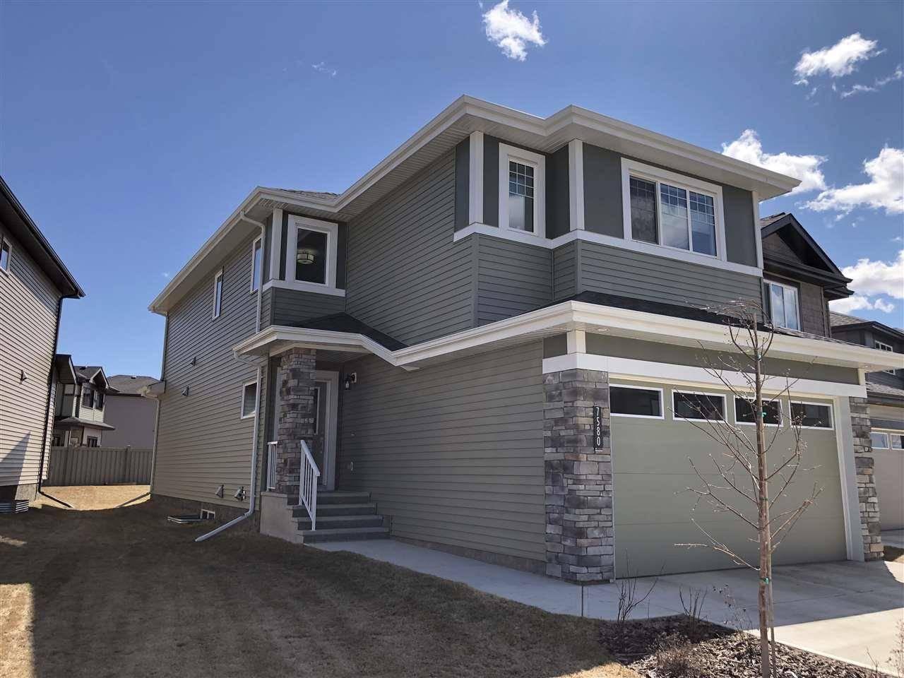 House for sale at 7580 Creighton Pl Sw Edmonton Alberta - MLS: E4185081