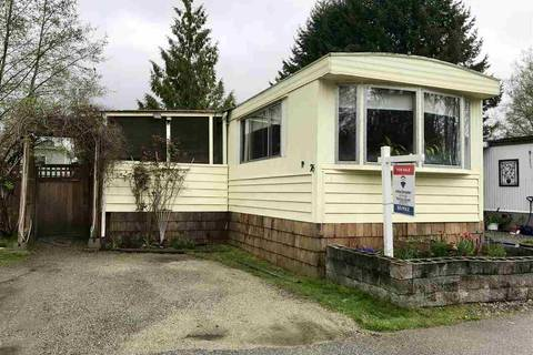 Home for sale at 1413 Sunshine Coast Hy Unit 76 Gibsons British Columbia - MLS: R2333273