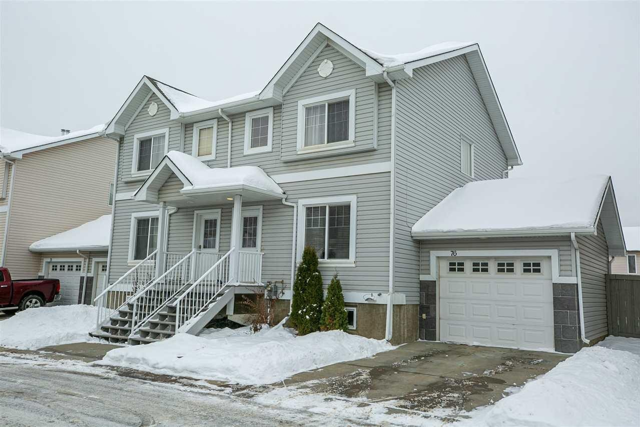 Townhouse for sale at 2503 24 St NW Unit 76 Edmonton Alberta - MLS: E4221787