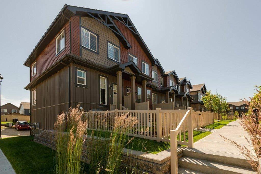 Townhouse for sale at 3305 Orchards Li Sw Unit 76 Edmonton Alberta - MLS: E4166322