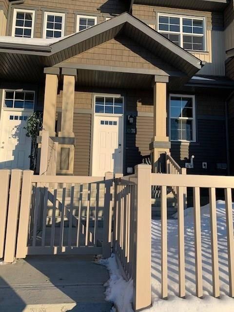 Townhouse for sale at 4029 Orchards Dr Sw Unit 76 Edmonton Alberta - MLS: E4190671