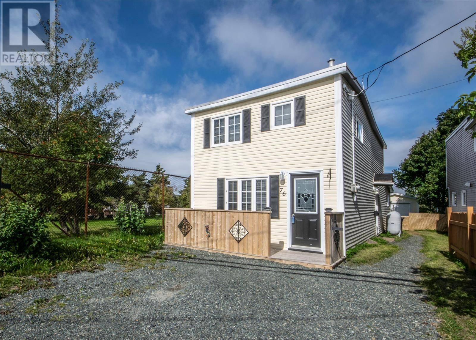 House for sale at 76 Blackmarsh Rd St. John's Newfoundland - MLS: 1203092