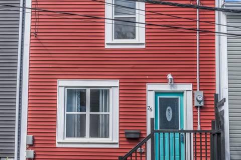 House for sale at 76 Brazil St St. John's Newfoundland - MLS: 1192123