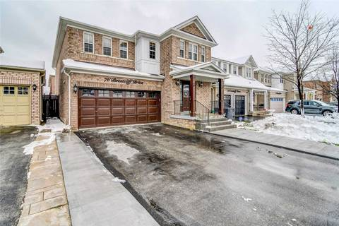 House for sale at 76 Brentcliff Dr Brampton Ontario - MLS: W4450545