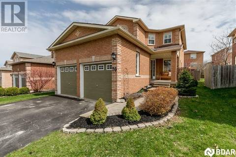 House for sale at 76 Gore Dr Barrie Ontario - MLS: 30733559