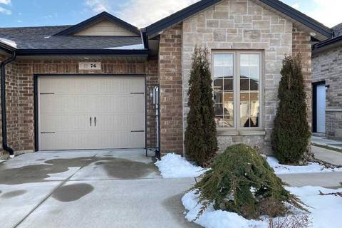 Townhouse for sale at 76 Hazel Cres Kingsville Ontario - MLS: X4694417