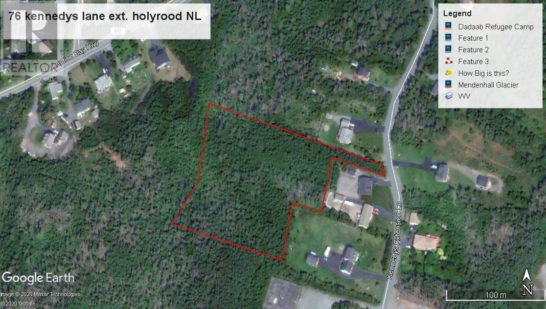 Residential property for sale at 76 Kennedys Lane Extension Holyrood Newfoundland - MLS: 1212546