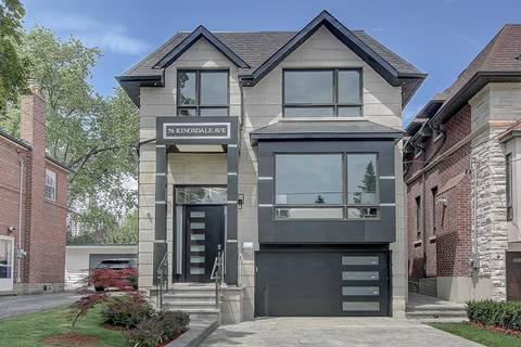 House for sale at 76 Kingsdale Ave Toronto Ontario - MLS: C4570292