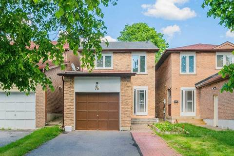 House for sale at 76 Larksmere Ct Markham Ontario - MLS: N4495356