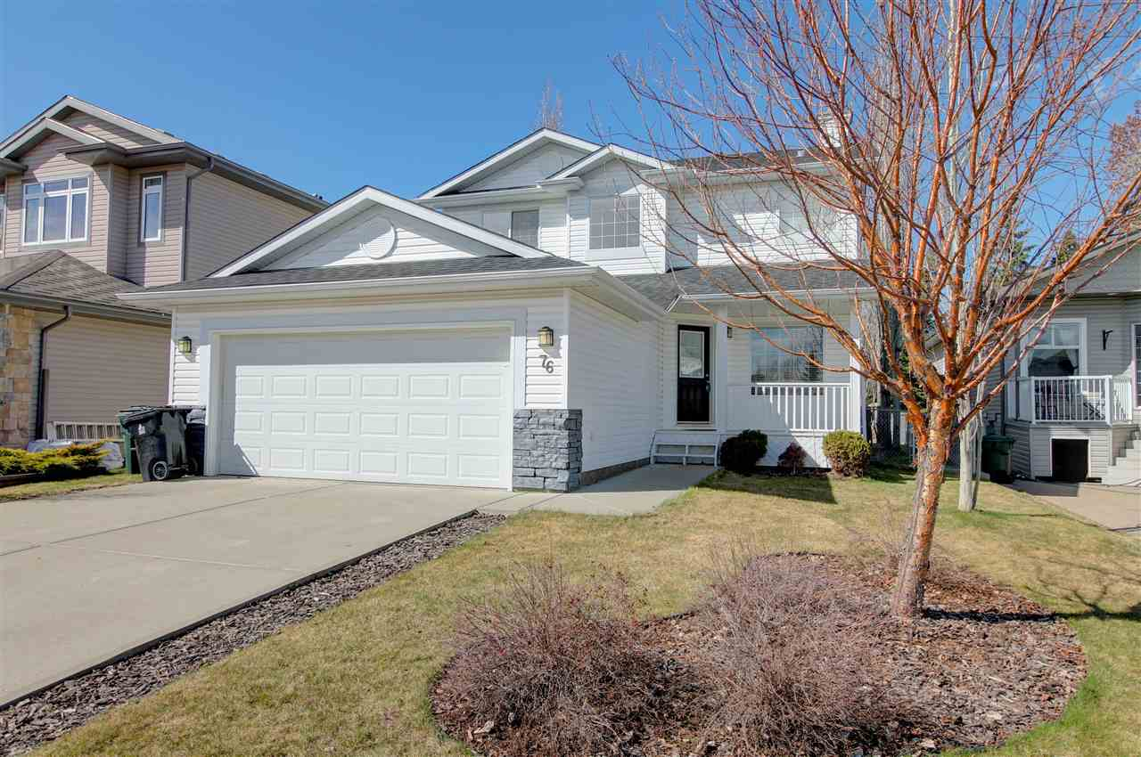 For Sale: 76 Linksview Drive, Spruce Grove, AB | 4 Bed, 4 Bath House for $439,900. See 25 photos!
