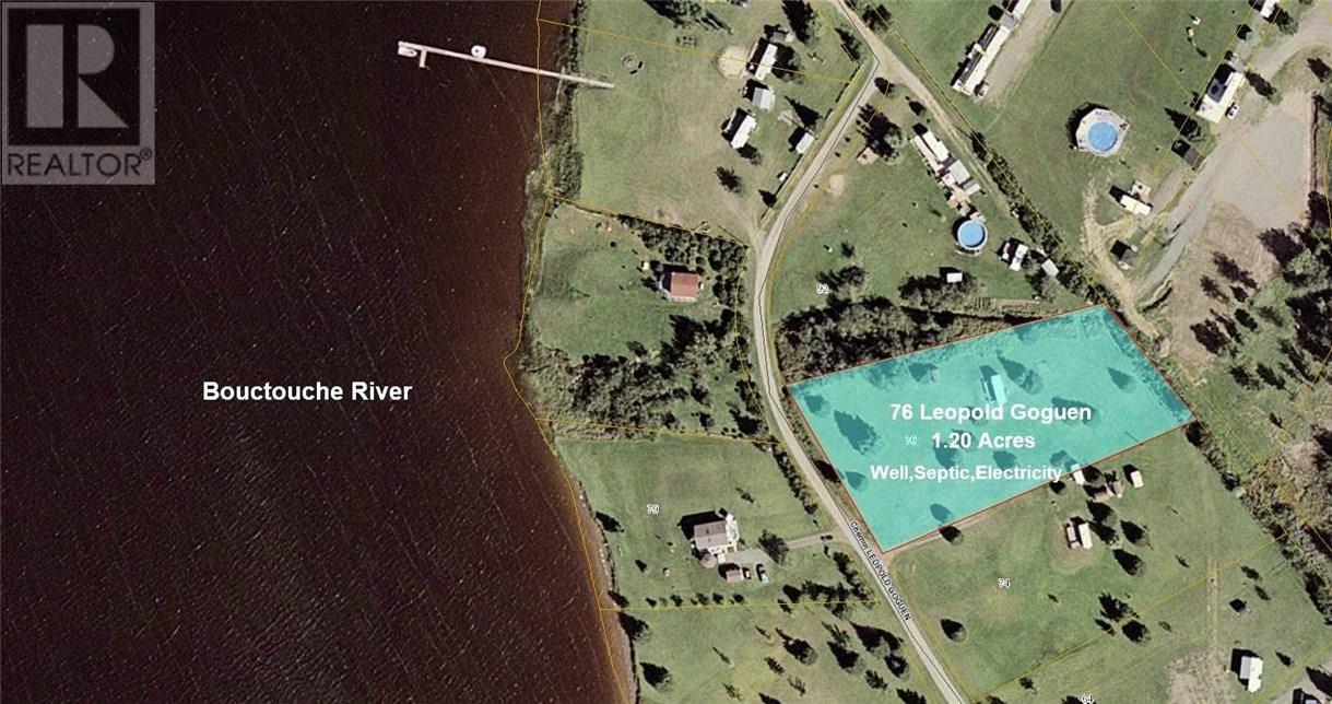 Home for sale at 0 Leo Paul Goguen Rd Unit 76 Ste. Marie-de-kent New Brunswick - MLS: M123413
