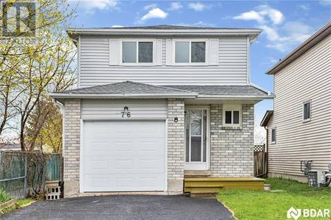 House for sale at 76 Maitland Dr Barrie Ontario - MLS: 30734818