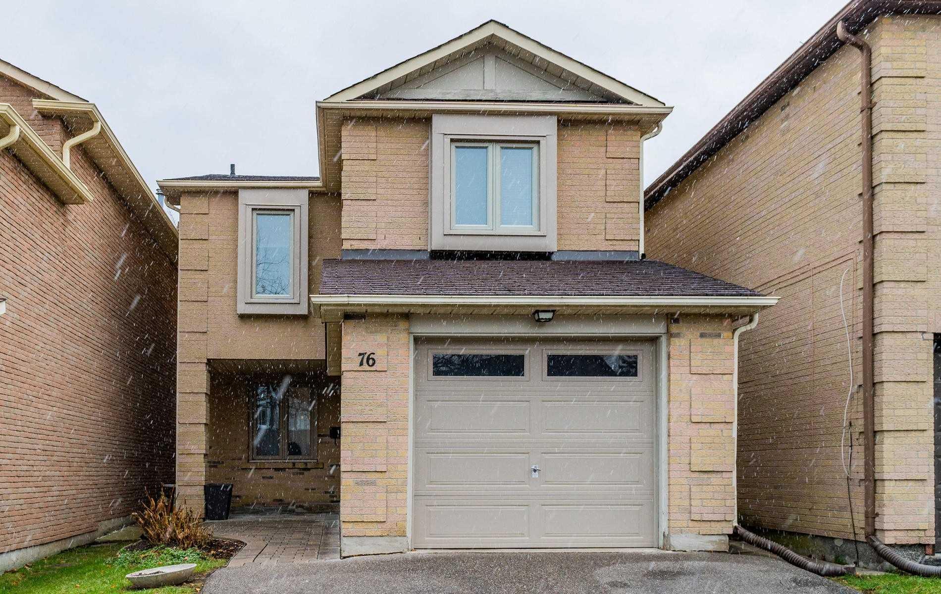 House for sale at 76 Mcmorran Crescent Vaughan Ontario - MLS: N4316762